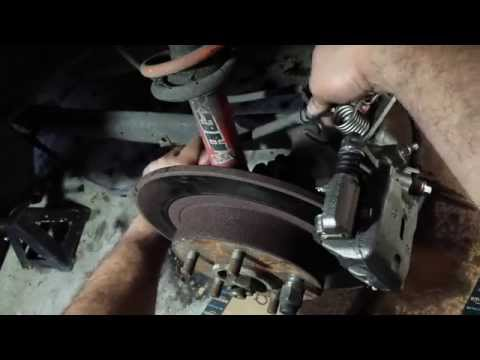 1995-2001 Nissan Maxima: Rear brake caliper replacement
