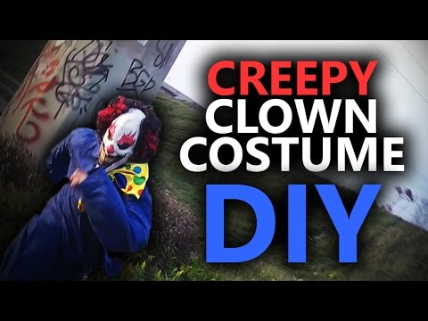Clown Costume DIY (Cheap and Easy)