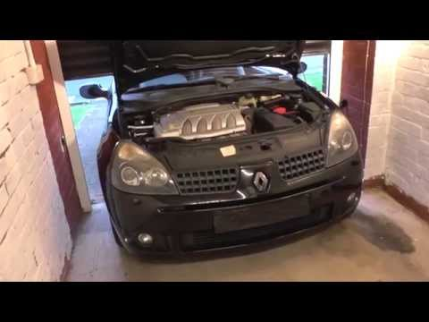 Renault Clio Mk2 Coolant Top Up Location 172 182