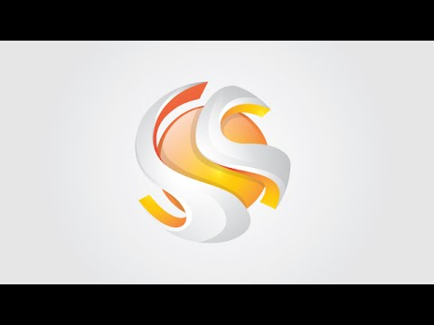 The Best Tutorial 3D logo Design Style, Glass, Shadow, professional, adobe illustrator tutorial