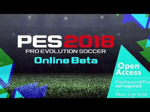 PES 2018 BETA ABIERTA - PS4 - Xbox One - FECHA