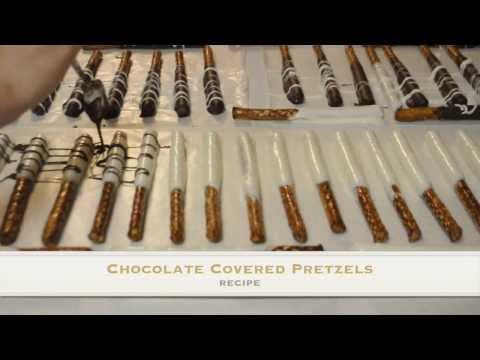Delicious Chocolate Covered Pretzel Recipe