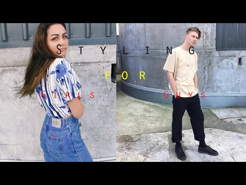 Guys and Girls Back to School Outfit's | Styling | Zac Macfarlane
