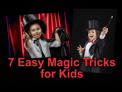 7 Great Magic Tricks for Kids to Learn and Perform