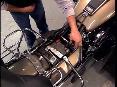 Harley Davidson Maintenance Tips: Touring Motorcycles - Seat Removal & Battery Check