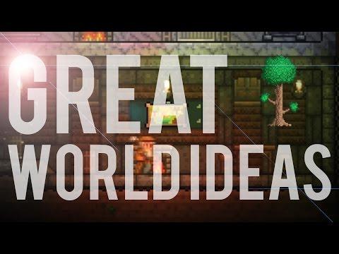 Terraria 1.3 - 3 Great World Ideas!