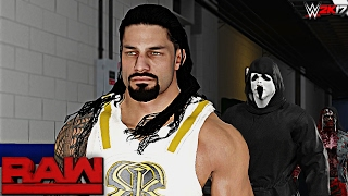 WWE 2K17 Custom Story - Zombies HiJack Raw 2017 ft. Roman Reigns, Seth Rollins, Ambrose - PART 10