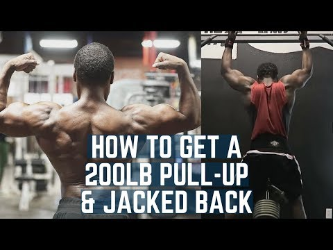 How To Get a 200lb Pull-up & Crazy Jacked Back Ft. The Swolefessor | All The Programming Behind It