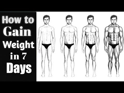 How to Gain Weight in 7 Days Naturally hindi