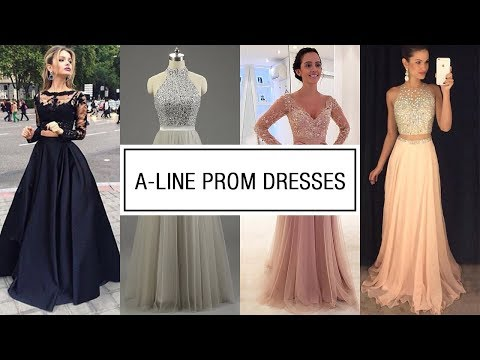 Buy Cheap A Line Prom Dresses 2018 Online - Best 30+ Party Evening Gowns Lookbook At MillyBridal