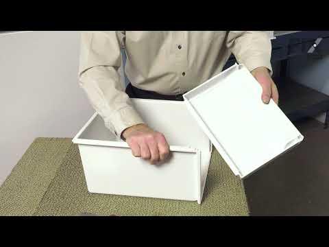 Frigidaire Refrigerator Repair - How to Replace the Crisper Pan