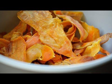 How To Make Sweet Potato Crisps!