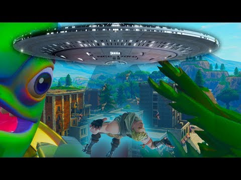*ALIENS INVADE* TILTED TOWERS TOMORROW Fortnite Battle Royale