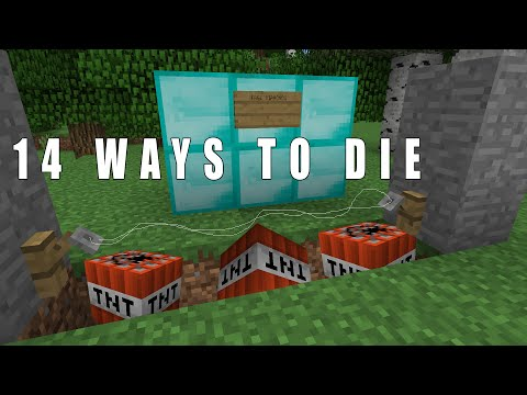 14 Ways to die in Minecraft