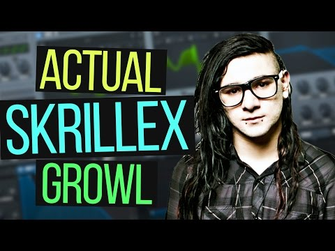 🔥 ACTUAL SKRILLEX GROWL IN SERUM TUTORIAL 🔥 (Free Preset)
