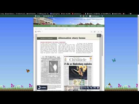 Welcome - Part 2 - JRN400-730 - Spartan Online Newsroom - Tour D2L