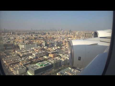 A380 flights from London to Australia/New Zealand & back 2017 - 1080p@60fps