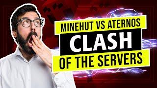 ⛏ Minehut vs Aternos: Big Bad Battle!  ⛏