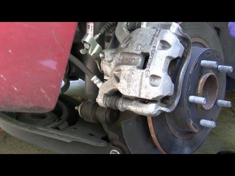 2014 Mazda3 iSport (Skyactiv) Brake Pads Replacement