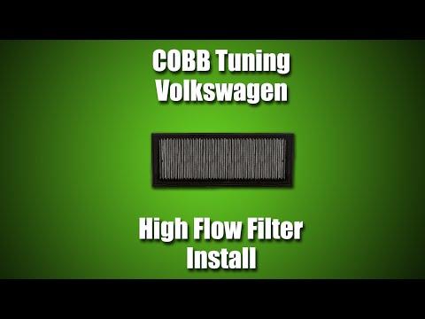 COBB Tuning - Volkswagen MK6 GTI High Flow Filter