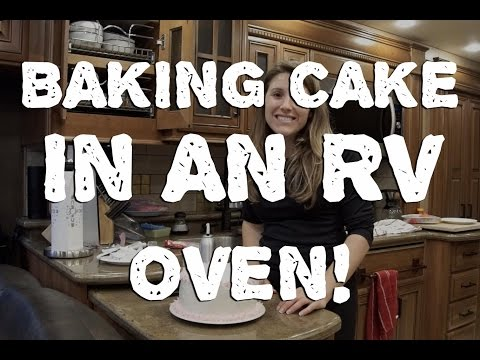 Baking a Multi Layer Cake in an RV Convection Oven