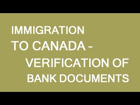 Bank references verification for immigration and visas. LP Group