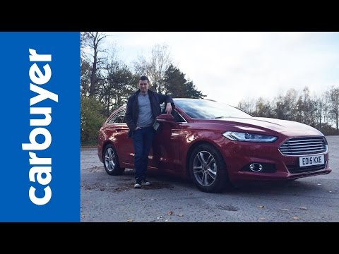 Ford Mondeo Estate review - Carbuyer (Ford Fusion)