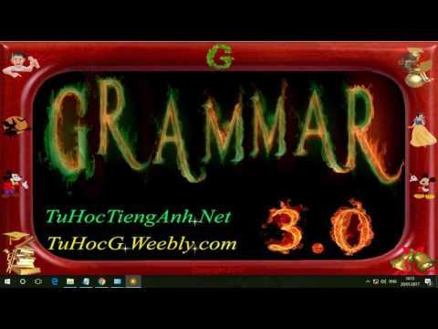 Hướng dẫn cài  Grammar 3.0 Phần Mềm Học Tiếng Anh miễn phí