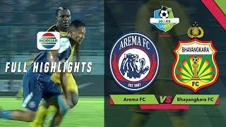 Arema FC (4) vs (0) Bhayangkara FC - Full Highlights | Go-Jek Liga 1 Bersama BukaLapak
