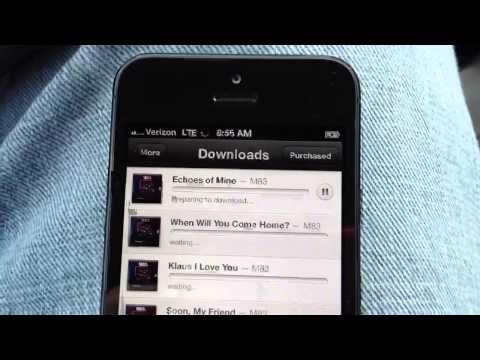 iPhone 5 4G LTE Speed Test Verizon
