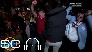 Tuscaloosa fans go wild as Alabama beats Georgia to win national championship | SC with SVP | ESPN
