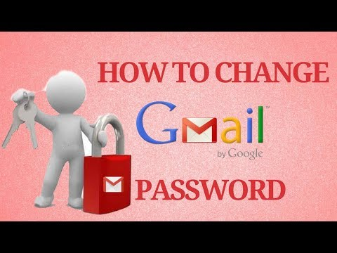 How to change Gmail Password in Mobile or PC 2017
