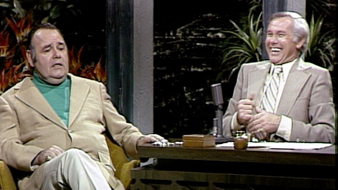Jonathan Winters Accidentally Glued His Cat to The Floor, on The Tonight Show Starring Johnny Carson