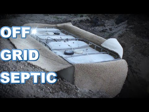 DIY Cheap and Basic septic system concept: OFF GRID