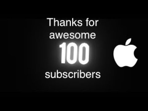 Thanks for 100 subscribers !!! (social networks)