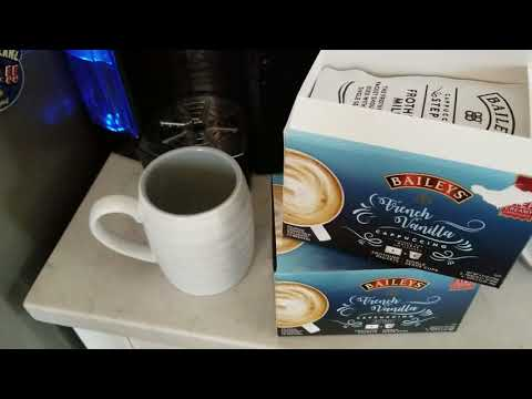 Easy 2 Step Process to Make a Bailey's French Vanilla Cappuccino at Home!