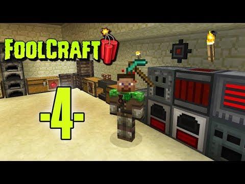 Dansk Minecraft - FoolCraft 3 #04 - Strøm, Nether og Enchanting (HD)