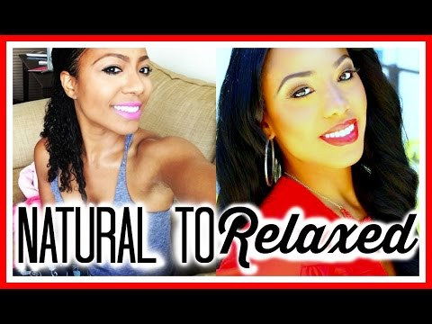 Natural to Relaxed Hair & Why I Did It