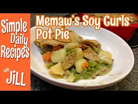 My Memaw's Pot Pie Recipe Cooked Plant-Based