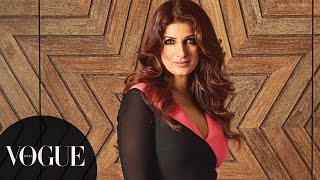 Twinkle Khanna in Casa Vogue | Photoshoot Behind-the-Scenes | VOGUE India