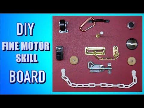 DIY FINE MOTOR SKILLS BOARD **LEARNING DEVELOPMENT**