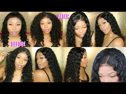 Get Into This Gorgeous Deep Curly 360 Lace Frontal Wig | Glueless Wig | RpgHair