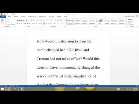 How to Remove Text Highlight/Background Color from Pasted Text [MS WORD]