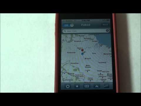 How To Fake Location On iPhone/iPod Touch/iPad