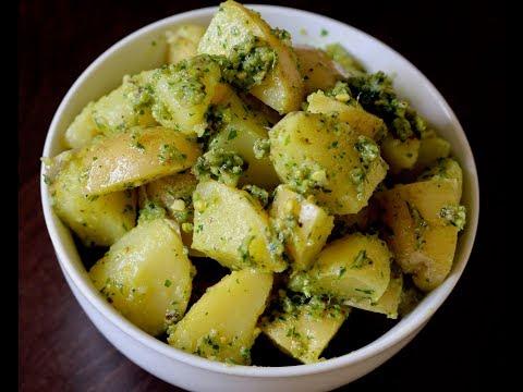 How to Make Pesto Potato Salad at Home