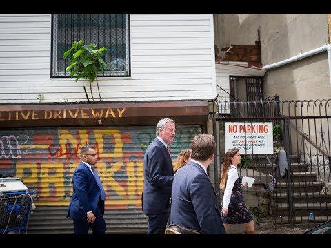 Mayor de Blasio Announces Crack Down on Parking Placard Fraud and Abuse