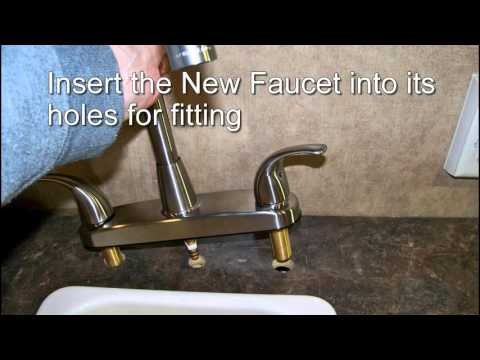 Easy Upgrading to a Better Kitchen Faucet & Sprayer: RV Camper Mods