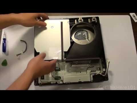 How To: Disassemble PS3 Slim Full HD