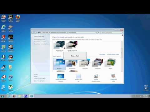 How to Change Windows 7 Taskbar Color Tutorial HD