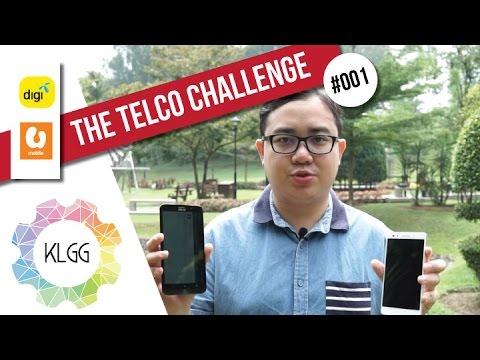 Digi vs U Mobile in Kuala Lumpur | The Telco Challenge #001